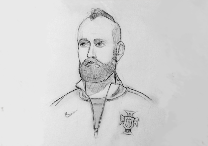 World Cup Player Sketches