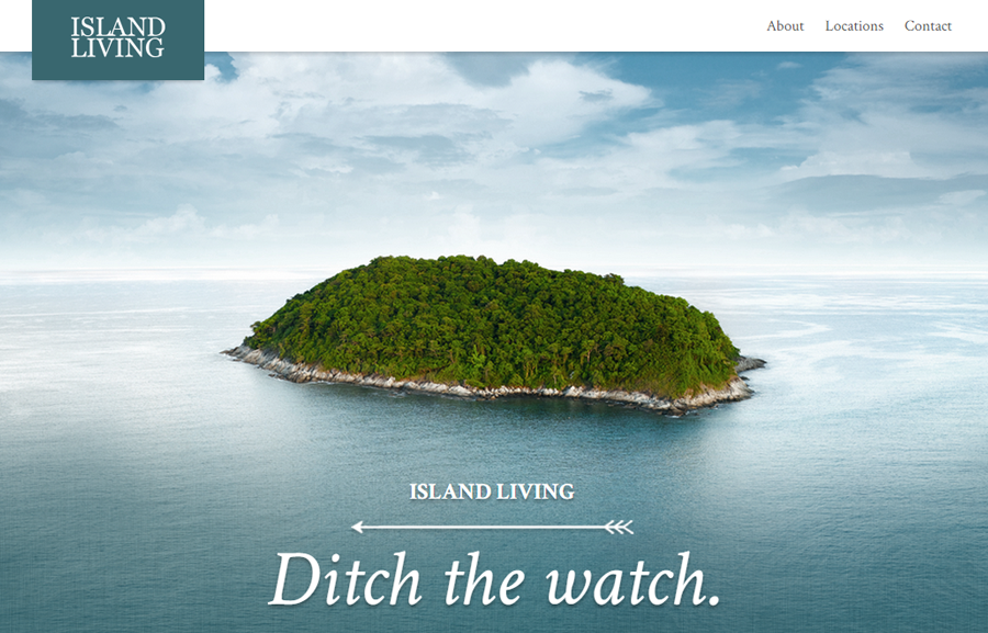 Island Living Website