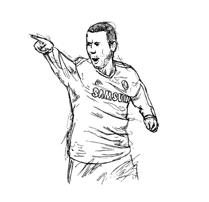 Chelsea Player Sketches