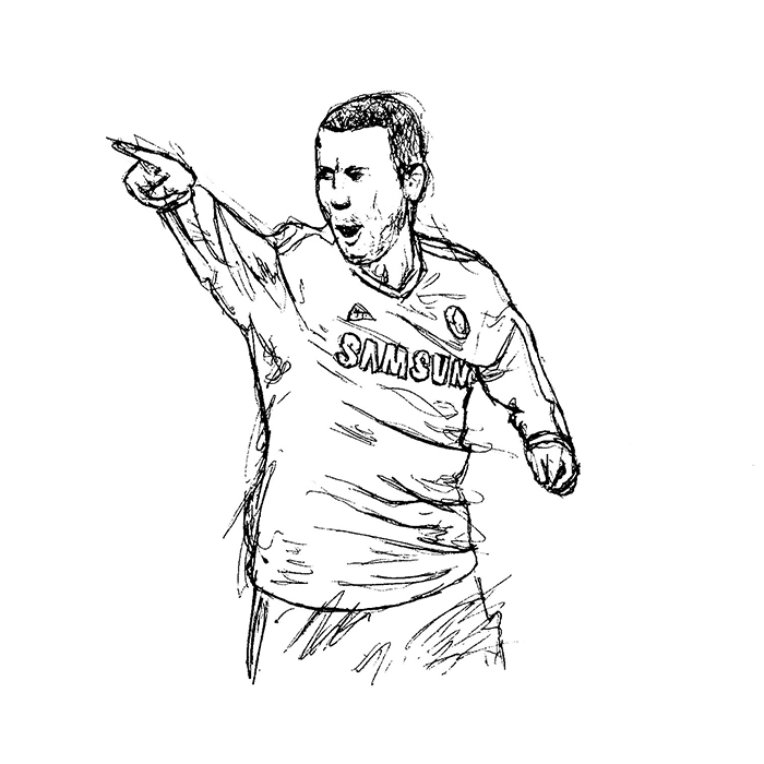Chelsea Player Sketches Jeff